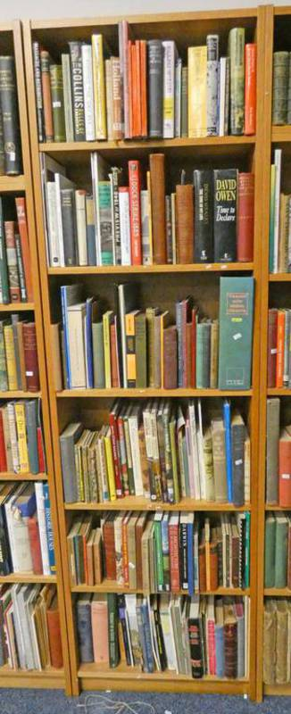 SELECTION OF VARIOUS BOOKS ON NATURAL HISTORY, GENERAL FICTION, FISHING ETC,