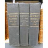 BRADSHAW'S RAILWAY MANUAL, SHAREHOLDERS GUIDE, AND OFFICIAL DIRECTORY, 1905,