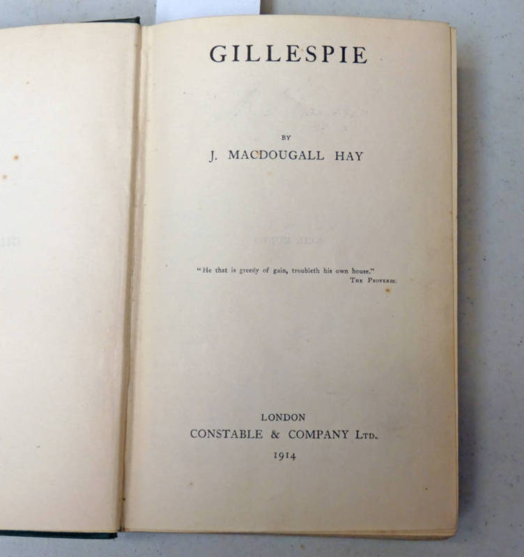 GILLESPIE BY J.