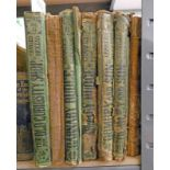 CHARLES DICKENS: BARNABY RUDGE IN 2 VOLUMES - 1866, DOMBEY AND SON, IN 2 VOLUMES - 1865,