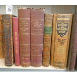 THE BALLAD BOOK BY WILLIAM ALLINGHAM, FULLY LEATHER BOUND - 1864,