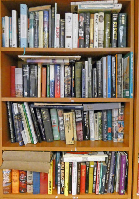 SELECTION OF VARIOUS BOOKS ON GARDENING, POLITICS,
