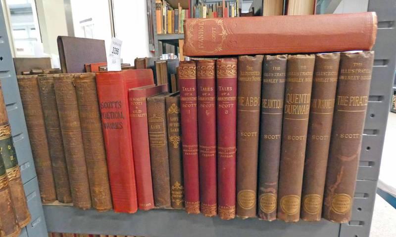 SIR WALTER SCOTT: THE MINSTRELSY OF THE SCOTTISH BORDER IN 4 VOLUMES - 1849,