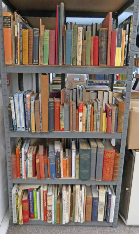 SELECTION OF VARIOUS BOOKS ON HISTORY, GENERAL FICTION ,