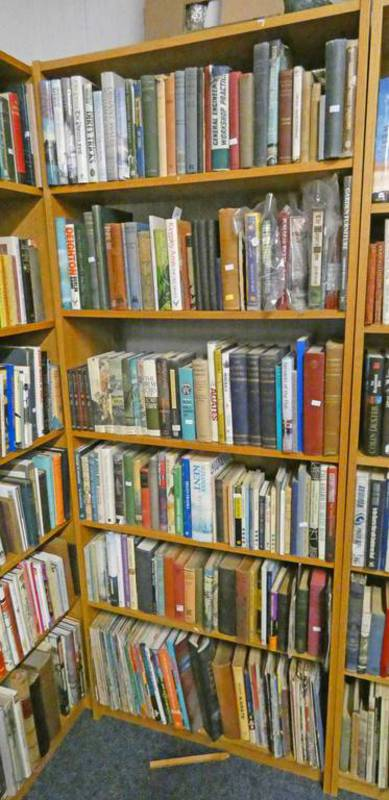 SELECTION OF VARIOUS BOOKS ON ENGINEERING, GENERAL FICTION,