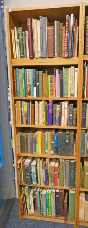 SELECTION OF VARIOUS BOOKS ON GENERAL FICTION, SCOTLAND,