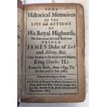 SOME HISTORICAL MEMOIRES OF THE LIFE AND ACTIONS OF HIS ROYAL HIGHNESS,