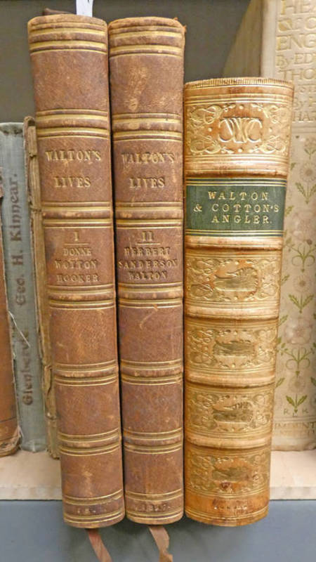 THE LIVES OF DR JOHN DONNE; SIR HENRY WOTTON; MR RICHARD HOOKER; MR GEORGE HERBERT;