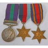 WW2 GROUP NAMED TO 608802. 1. PTE. C. M. MCCLELLAND THE. QUEENS.
