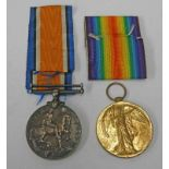 WW1 VICTORY & BRITISH WAR MEDALS NAMED TO 5638 WKR. A. LATHAM Q. M. A. A. C.