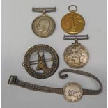 WW1 FAMILY MEDAL GROUP TO STONE FAMILY, PAIR NAMED TO 334371. GNR. J. STONE. R.