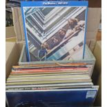 SELECTION OF RECORDS TO INCLUDE BEATLES, ABBA,