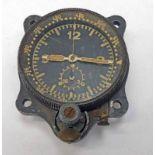 MESSERSCHMITT AIRCRAFT CLOCK Condition Report: Does not work. Sold with no guarantee.