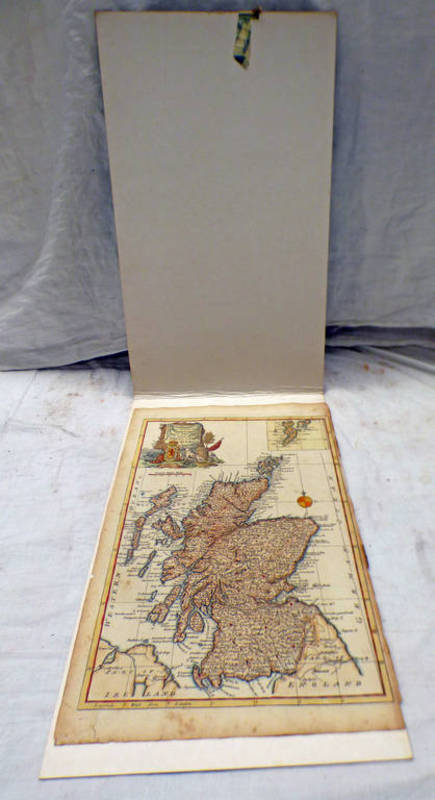 A NEW & ACCURATE MAP OF THAT PART OF GREAT BRITAIN CALLED SCOTLAND BY T BOWEN 37 X 24 CM