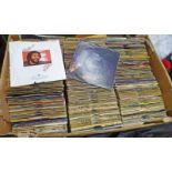 VAST SELECTION OF 45RPM RECORDS TO INCLUDE SAXO, BEATLES, UNDERTONES, THE WHO,