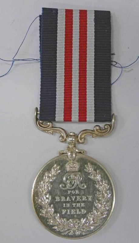 MILITARY MEDAL NAMED TO 4217 PTE. W. HAMILTON 1/5 SEA. HDRS - T. F.