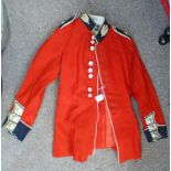 SCOTS GUARD DRESS TUNIC WITH BUTTONS AND THISTLES TO COLLAR