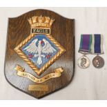 MEDAL PAIR CONSISTING OF A GENERAL SERVICE MEDAL WITH MALAY PENINSULA CLASP (JX. 890041 C. SMITH. P.