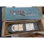 VICTOR INDUSTRIES LTD VOSPER RAF CRASH ELECTRIC TENDER.