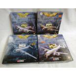 4 CORGI MODEL AIRCRAFT FROM THE AVIATION ARCHIVE RANGE INCLUDING 47301 - AVRO LANCASTER,,