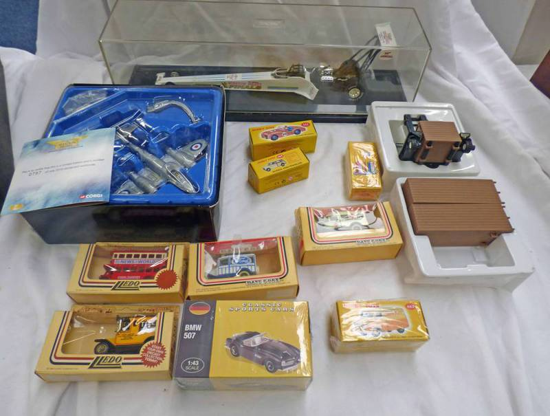 SELECTION OF MODEL VEHICLES FROM CORGI, ATLAS EDITIONS,