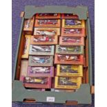 SELECTION OF MATCHBOX MODELS OF YESTERYEAR VEHICLES INCLUDING 1906 SILVER GHOST,