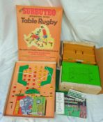 VARIOUS VINTAGE LOOSE SUBBUTEO INCLUDING SCENIC ACCESSORIES