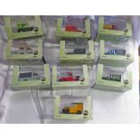 SELECTION OF OXFORD DIECAST 1:43 SCALE MODEL LAND ROVERS FROM THE COMERCIALS RANGE INCLUDING LAND