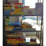 SELECTION OF VARIOUS BOARD GAMES, PUZZLES,