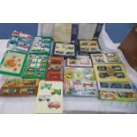 VARIOUS MODEL VEHICLES SETS FROM CORGI, MATCHBOX, LLEDO ETC, INCLUDING PICKFORDS,