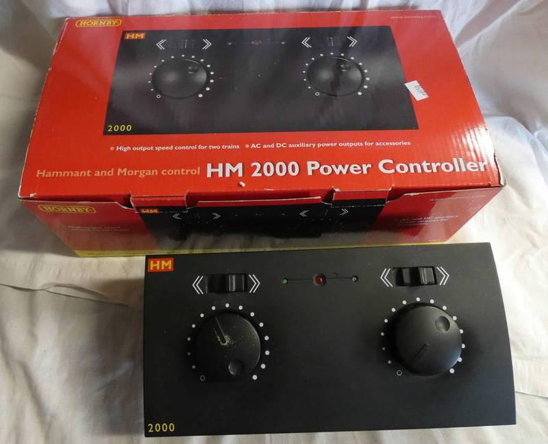 HORNBY R8012 - HAMMANT & MORGAN 2000 POWER CONTROLLER.