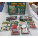 SELECTION OF EDDIE STOBART RELATED MODEL VEHICLES FROM CORGI INCLUDING MORRIS 1000 PICK-UP WITH