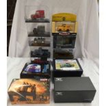 SELECTION OF LAND ROVER RELATED MODEL VEHICLES FROM CORGI, OXFORD DIECAST,