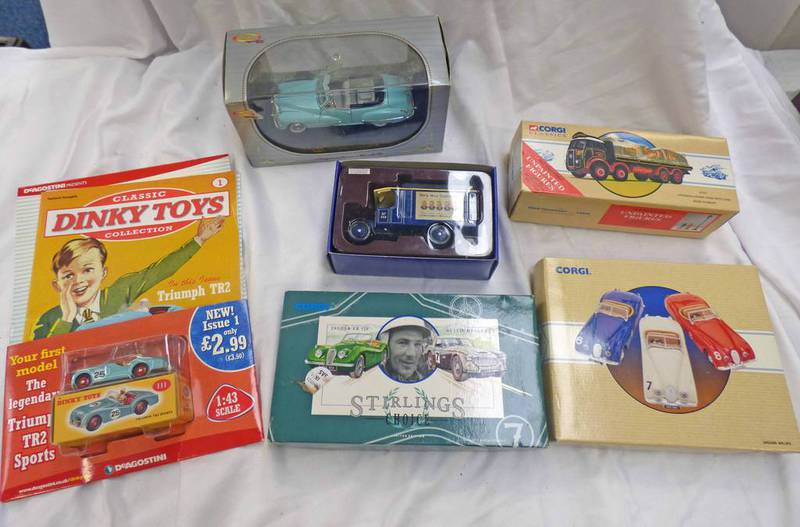 SELECTION OF CORGI AND OTHERS MODEL VEHICLE SETS INCLUDING 97681 - STIRLINGS CHOICE SET,