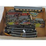 GRAHAM FARISH HO/00 GAUGE 4-6-0 LOCOMOTIVE TOGETHER WITH VARIOUS ROLLING STOCK & TRACK
