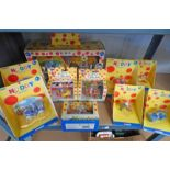 SELECTION OF CORGI NODDY RELATED VEHICLES & PLAY SETS INCLUDING MR SPARKS GARAGE,