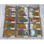 SELECTION OF CORGI CLASSIC BEDFORD OB COACHES IN VARIOUS LIVERIES - ALL BOXED