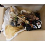 SELECTION OF MODERN PORCELAIN DOLLS AND OTHERS