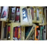 SELECTION OF VARIOUS MATCHBOX MODELS OF YESTERYEAR INCLUDING 1931 STUTZ BEARCAT, 1922 A.E.C.