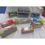 SELECTION OF CORGI, VICTORIA, OXFORD DIECAST MODEL VEHICLES INCLUDING LAMPETER,