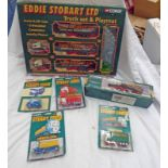 SELECTION OF EDDIE STOBART RELATED MODEL VEHICLES FROM CORGI INCLUDING BEDFORD S-TYPE WITH FLAT