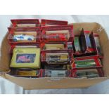 SELECTION OF MATCHBOX MODELS OF YESTERYEAR VEHICLES INCLUDING 1936 AUBURN SPEEDSTER 1920 ROLLS