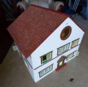 DOLLS HOUSE AND CONTENTS Condition Report: The items dimensions are: Width -