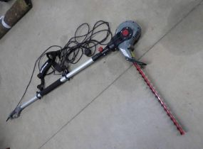 ECKMAN ELECTRIC HEDGE TRIMMER Condition Report: The item has Eckman Lightweight 9ft