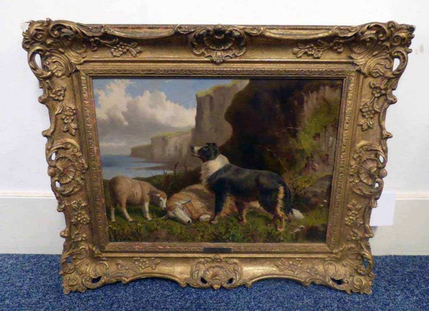 Sale of Paintings, Carpets, Light Fittings,etc. - Remote Bidding Only