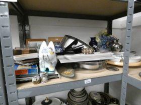 ROYAL DOULTON CARLYLE DINNER SET VARIOUS PORCELAIN BY LIMOGE, CLOISONNE BOXES, PORCELAIN, GLASS ,