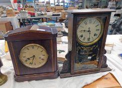 AMERICAN MANTLE CLOCK BY WATERBURY CLOCK CO.