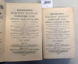 BRADSHAW'S RAILWAY MANUAL, SHAREHOLDERS' GUIDE,