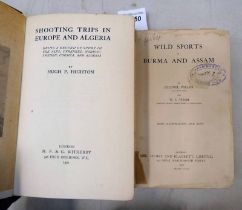 WILD SPORTS OF BURMA AND ASSAM BY COLONEL POLLOK AND W. S.