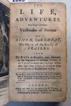 THE LIFE, ADVENTURES AND MANY AND GREAT VICISSITUDES OF FORTUNE OF SIMON, LORD LOVAT,